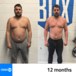 Personal Training Results Male 12 months