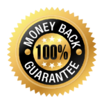 100% Money Back Guarantee Stamp
