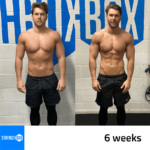 Personal Training Results Male 6 weeks